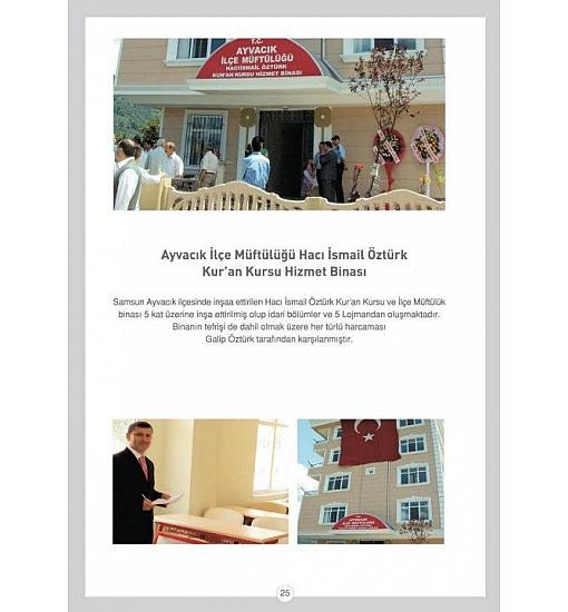 Ayvacık İlçe Müftülüğü Hacı İsmail ÖZTÜRK Kur'an Kursu Hizmet Binası