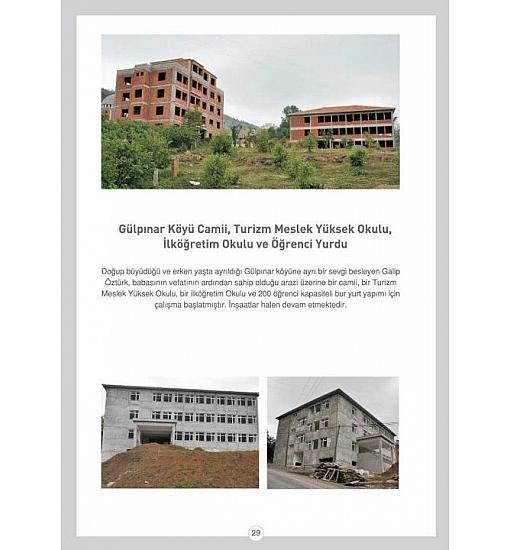 Güzelpınar Köyü Camii, Turizm Meslek Yüksek Okulu, İlköğretim Okulu ve Öğrenci Yurdu