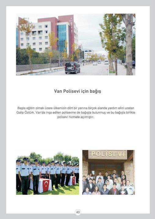 Van Polis Evi İçin Bağış