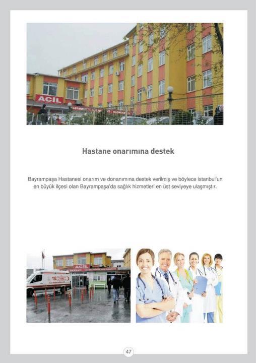 Hastane Onarımına Destek